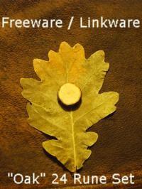 Oak 24 Rune Set